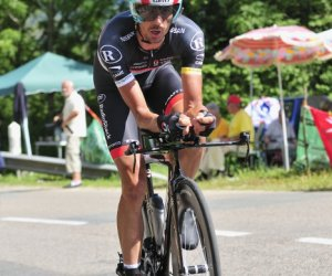 Andreas Klöden beim Einzelzeitfahren, Tour de France 2012