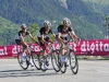 Christopher Horner, Haimar Zubeldia und Andreas Klöden, TdF 2012 (11. Etappe)