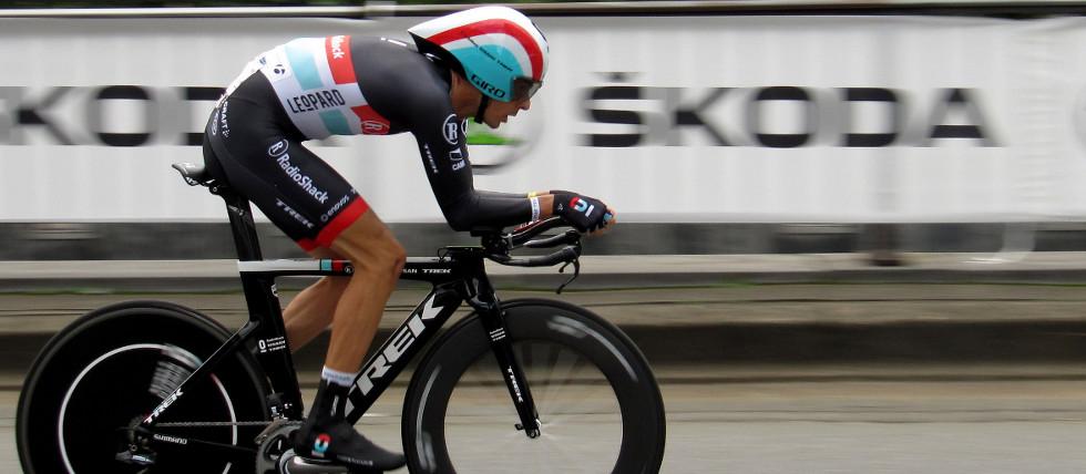 Andreas Klöden beim Prolog der Tour de France 2012